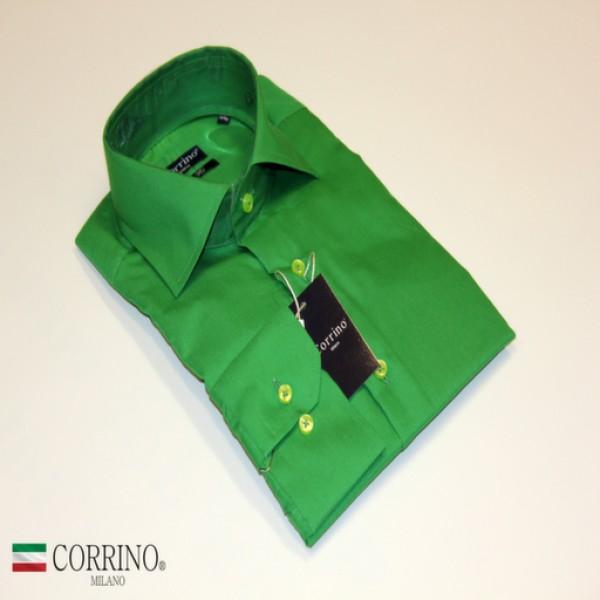 Donkergroen Overhemd.Groene Overhemd Corrinoshop Nl